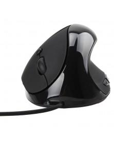 Проводная вертикальная мышь SteelSeries (черная)